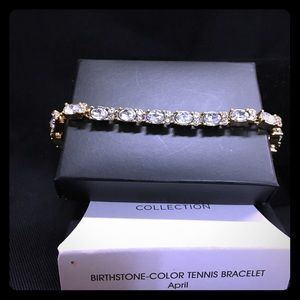 Avon Birthstone Tennis Bracelet April.